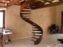 Escaleras de caracol Forja